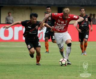 Bali United Menang 3-2 atas Borneo FC - Hasil Grup D Piala Presiden 2018