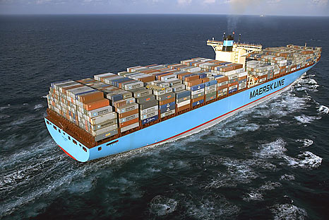 Emma Maersk World's Largest Container Ship ~ World Information