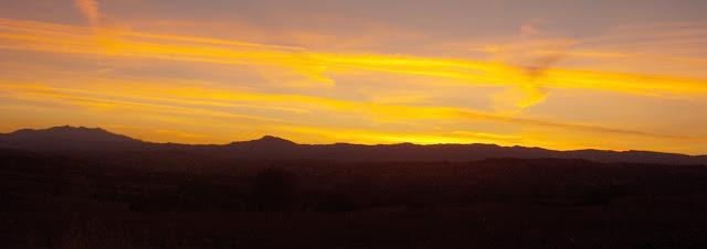 Το ηλιοβασίλεμα από το Τσοτύλι