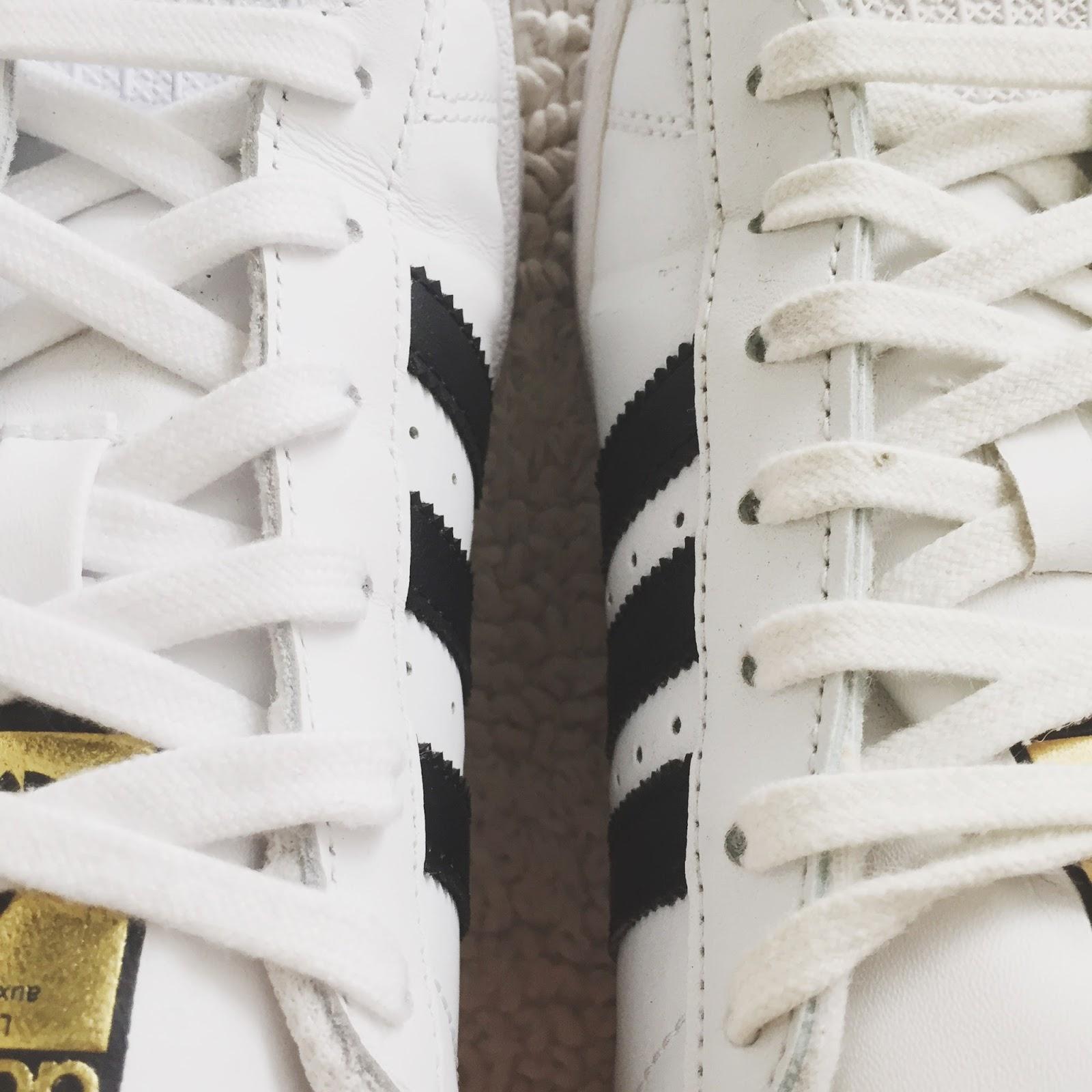 best service 7d55e 15a15 Adidas Superstar White Fake Vs Original