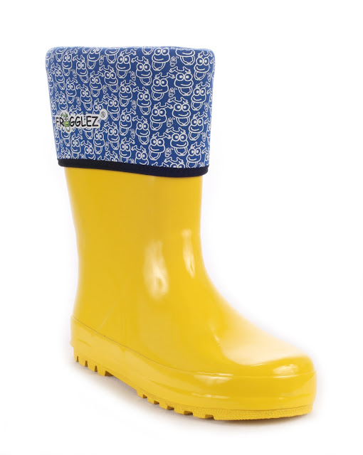 Frogglez Rain Boots for Kids review