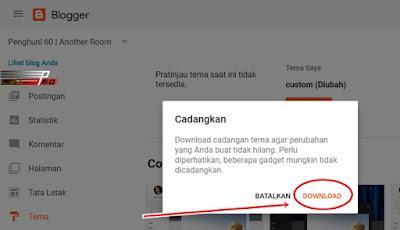 Trik Mengatasi Masalah Edit HTML Blogger Tidak Bisa Disimpan