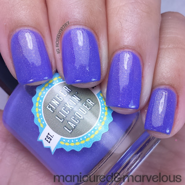 Finger Lickin Lacquer - Lilac Festival