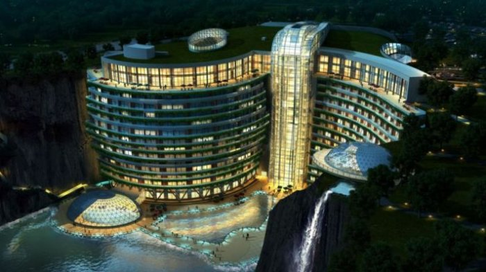 Super Keren, Ini Potret Megahnya Hotel Bawah Tanah Pertama di Dunia