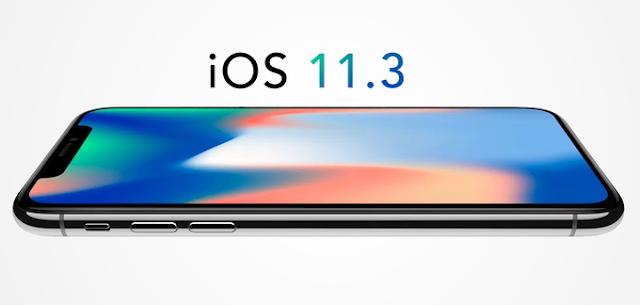 Update iOS 11.3