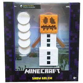 Minecraft Snow Golem Survival Mode Figure