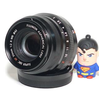 Lensa Fujifilm Fujinon XF 35mm f/2 R WR