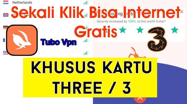 Turbo Vpn Kartu 3 (Three Tri) Internet Gratis 1