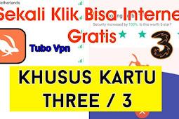 Cara Setting Turbo VPN Kartu 3 (Three Tri) Internet Gratis