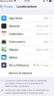 Localizzazione app installate