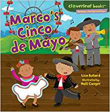 https://www.amazon.com/Marcos-Cinco-Mayo-Cloverleaf-Books/dp/0761385800/ref=sr_1_148?keywords=cinco+de+mayo+books&qid=1555339521&refinements=p_85%3A2470955011&rnid=2941120011&rps=1&s=books&sr=1-148