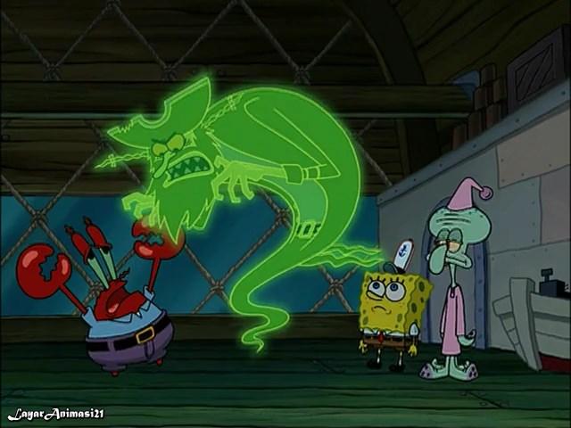 SpongeBob Season 3 Episode 16A - Born Again Krabs SD 480p Dub Indo