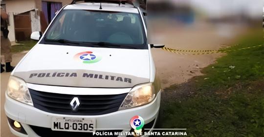 Jovem morta facadas em Rio Negrinho