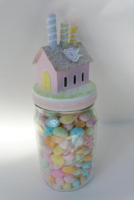 Jellybean Factory Glitter House DIY