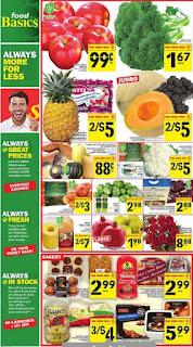 Food Basics Ontario Flyer October 05 - 11, 2017