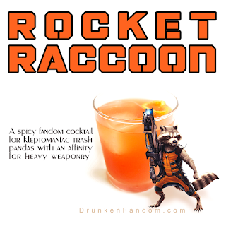 The Rocket Raccoon Cocktail