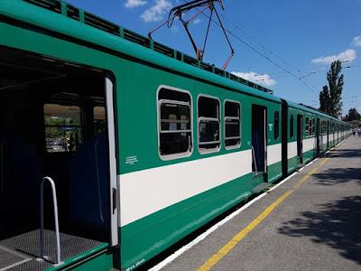 Tren de Budapest a Szentendre