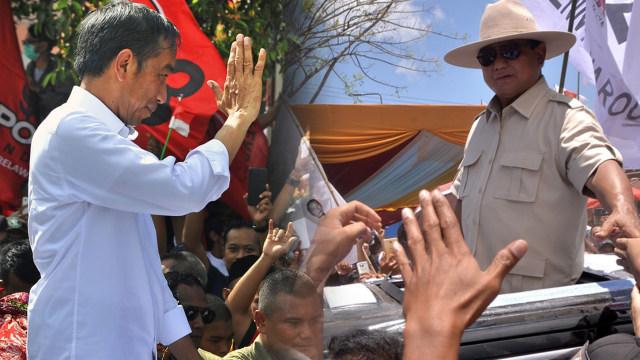 Ketika Jokowi Sampaikan Keluh Kesah dan Prabowo Beberkan Program di Kampanye Akbar Perdana