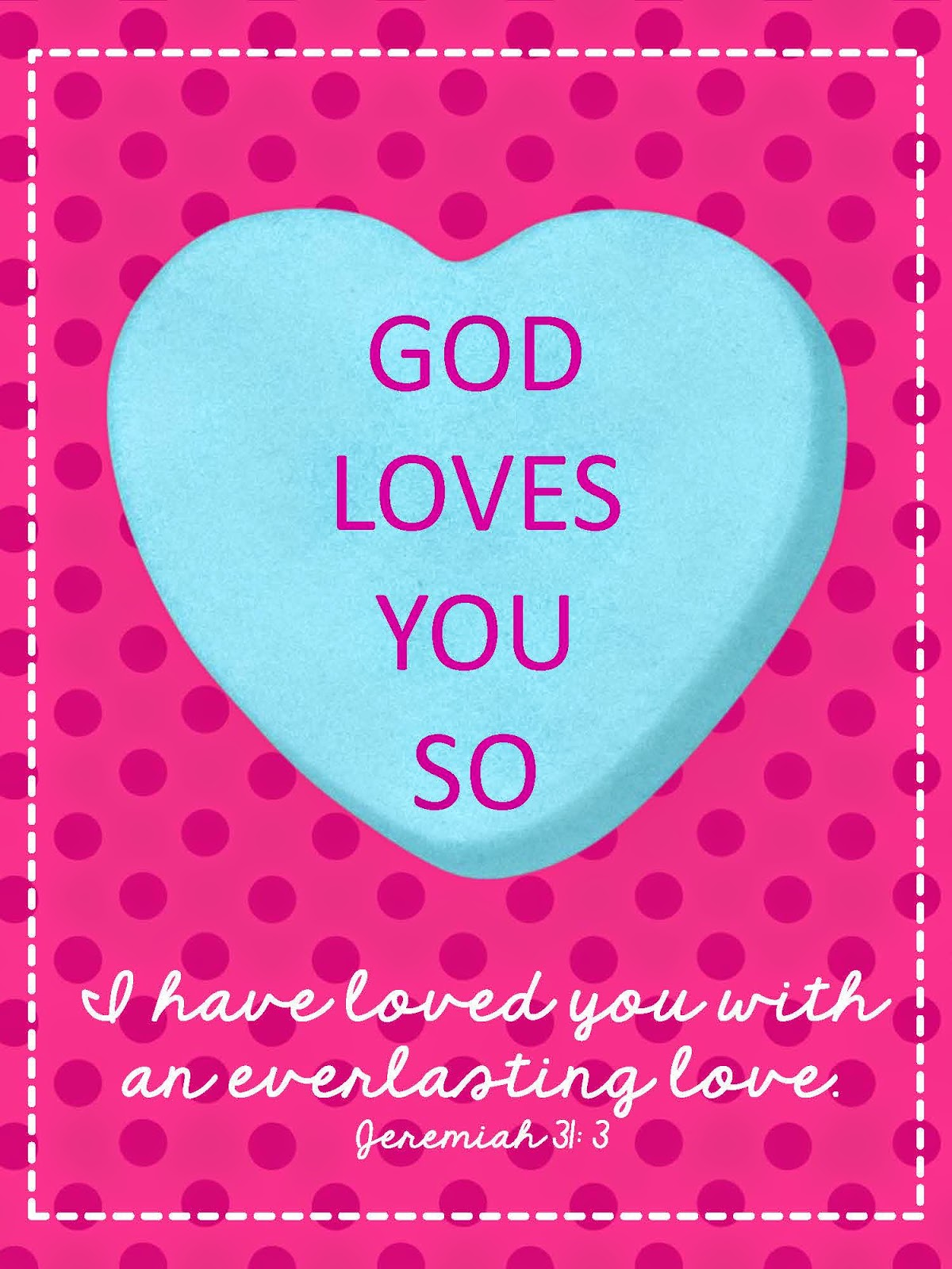 Sweet Blessings Valentine S Sweetie Printables Day 9 God