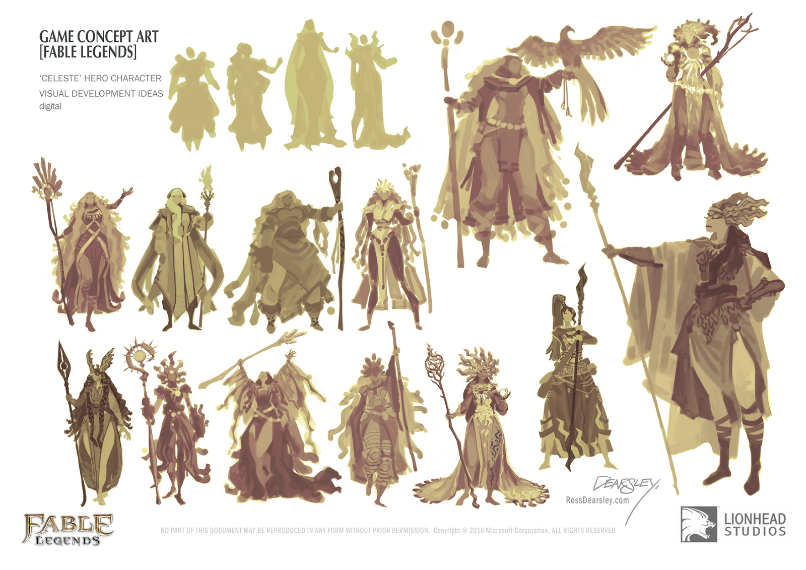 Ross Dearsley - Character design document