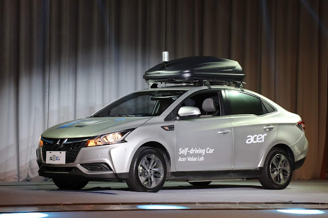 @Acer Unveils Self-driving Concept Car #NextAtAcer #ConceptCar