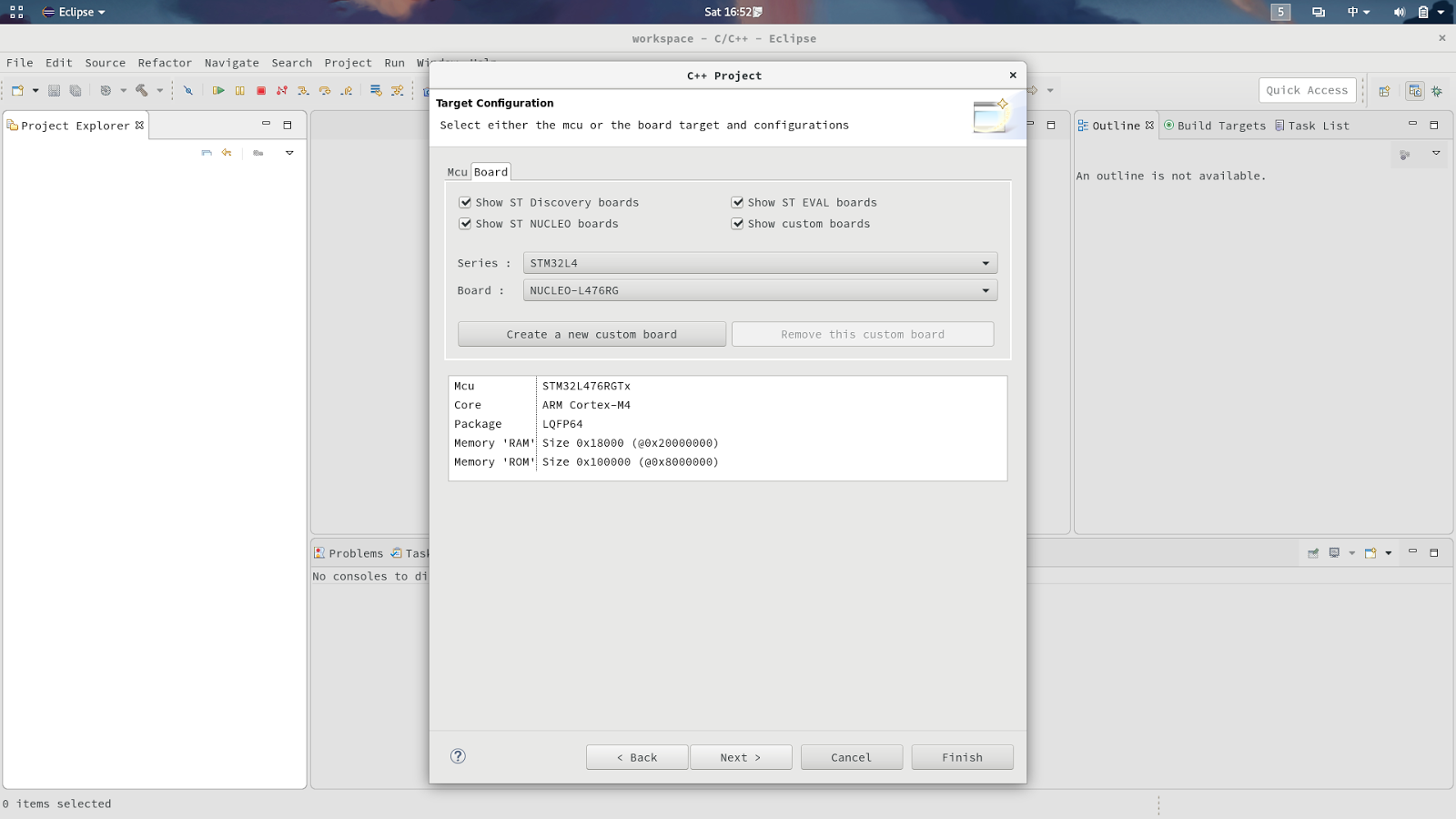 Gattaca-ngin: 使用SW4STM32建置STM32 HAL專案