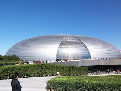 Nhà hát lớn Bắc Kinh, Trung Quốc.