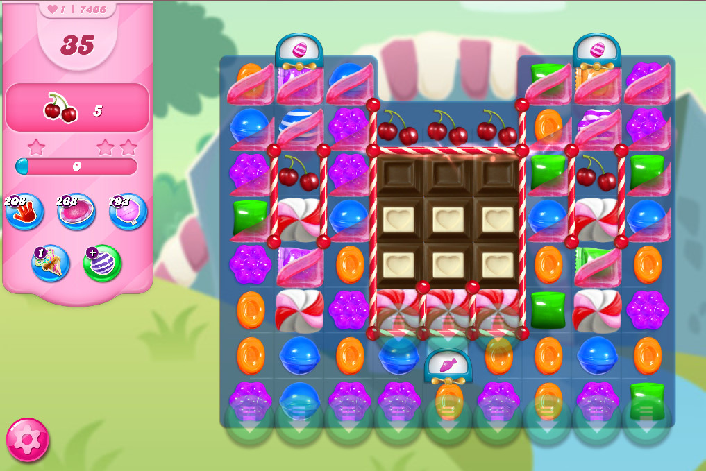 Candy Crush Saga level 7406