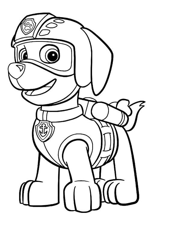 Disegni Da Colorare Paw Patrol Everest
