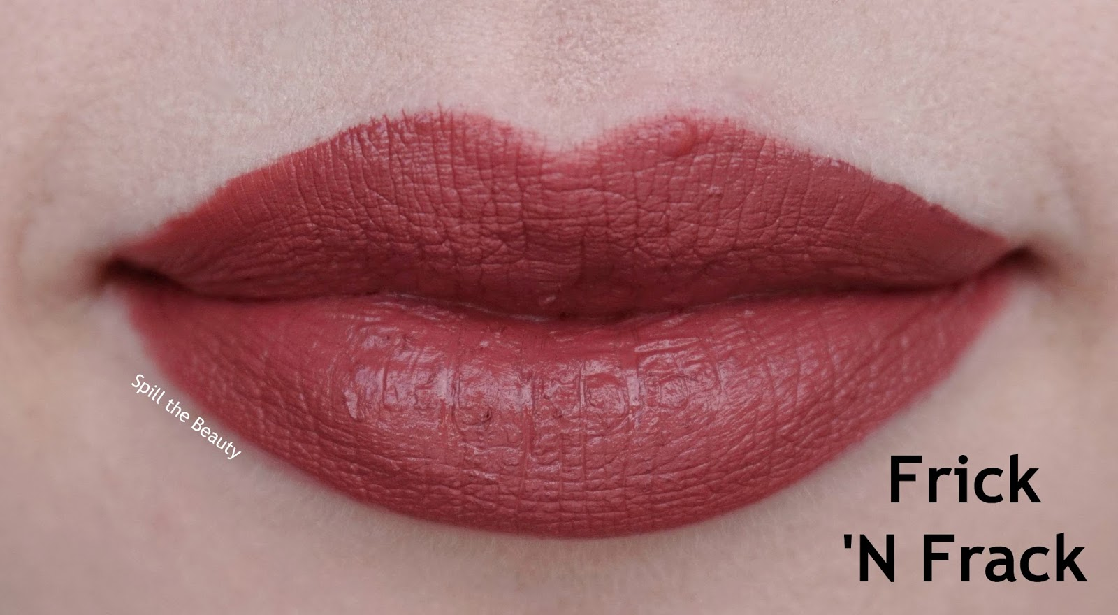 colourpop ultra satin lips faves swatches 2 frick n frack -lips