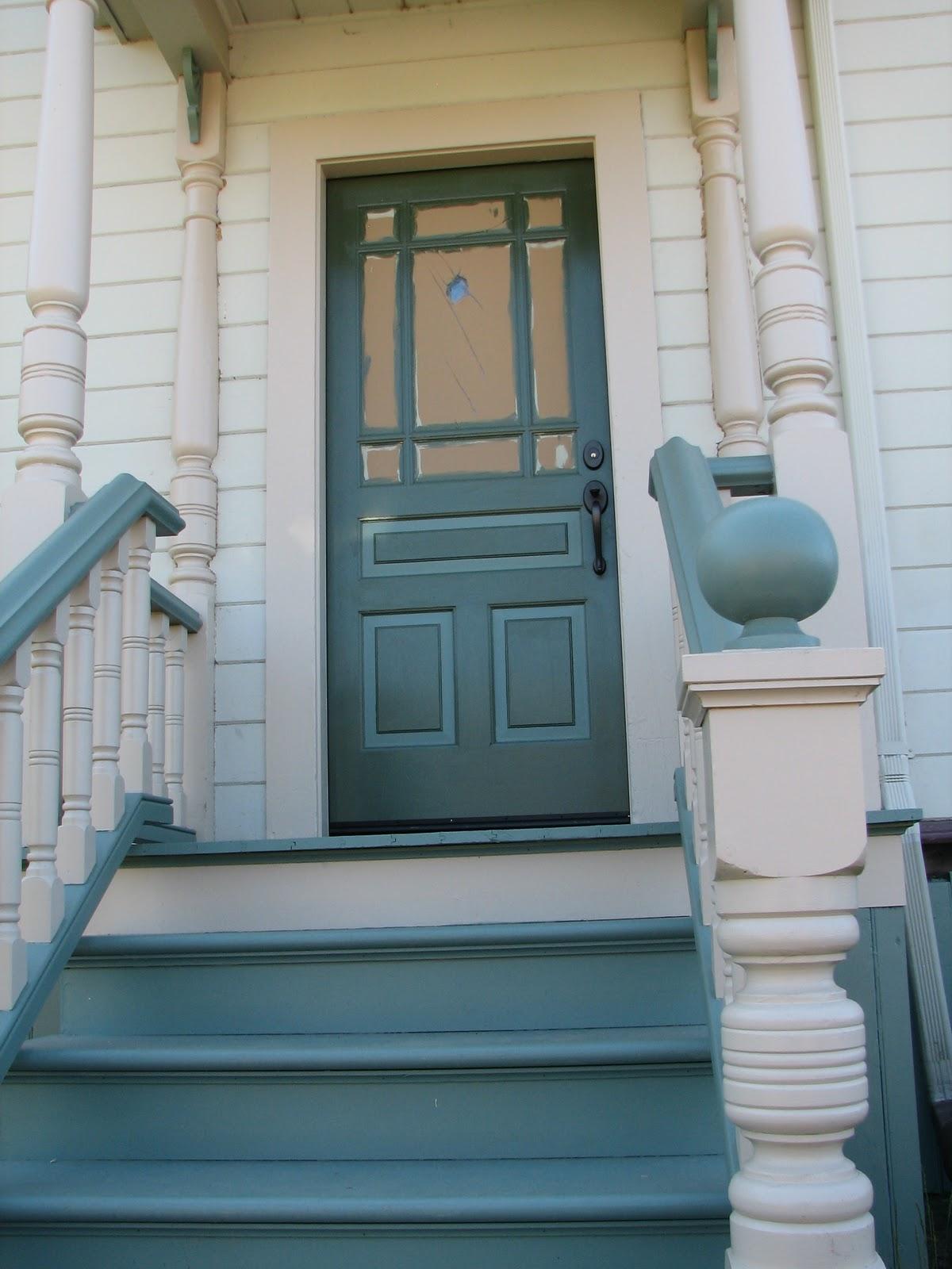 Eureka Victorian Restoration The Front Door Saga Comes To A Close