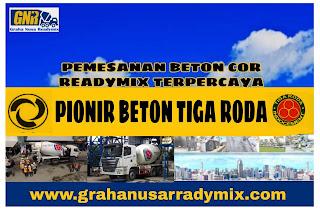 HARGA READYMIX TIGARODA / BETON COR TIGARODA
