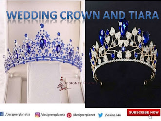 Wedding Crown | Full Bridal Crown | Swarovski Crystal Wedding Crown | Designerplanet