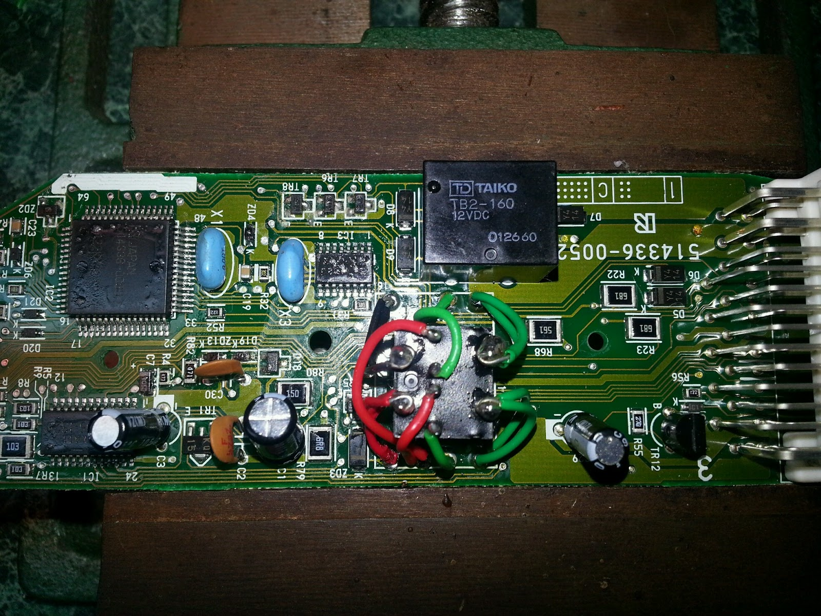 the replacement is a newer panasonic acj2112 dual 1 form c relay designed specifically black dog technologies rx300  [ 1600 x 1200 Pixel ]
