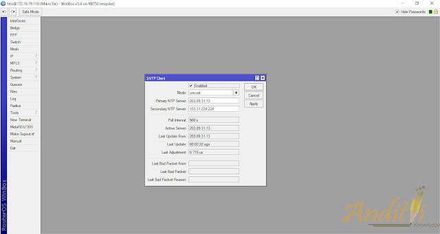 Konfigurasi NTP Client Pada Mikrotik Router-anditii.web.id