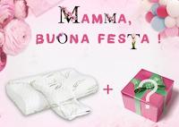 Logo Festa della Mamma: vinci gratis un cuscino ortopedico e 1 premio Songmics a tua scelta
