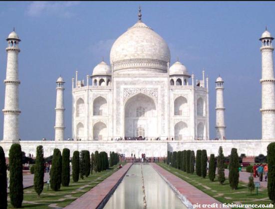 Taj Mahal Facts www.faqlabs.com