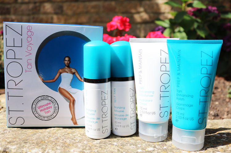 St.Tropez Tan Voyage Ultimate Holiday Kit review