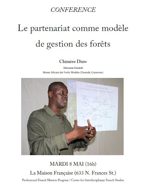Sustainable forest management: une lecture publique en français