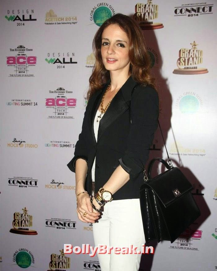 Sussanne Khan, Photos from Inauguration of ACETECH 2014