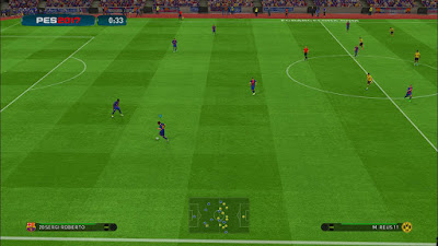 PES 2017 PS4ModGreen