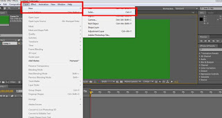 tutorial adobe after effect cs4 menambah solid layer