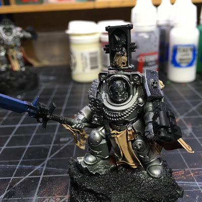 Grey Knight Brother Captain WIP