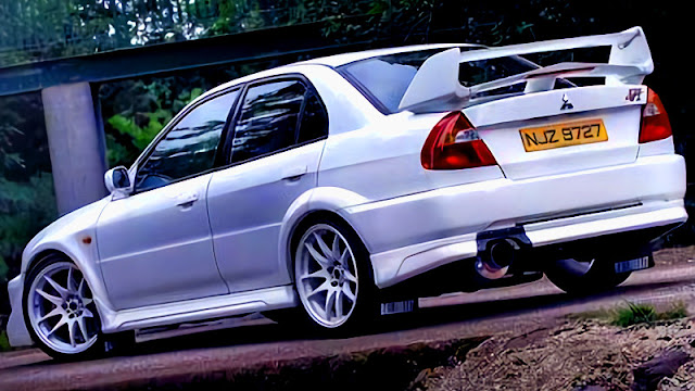 Lancer Evolution 6 GSR rear