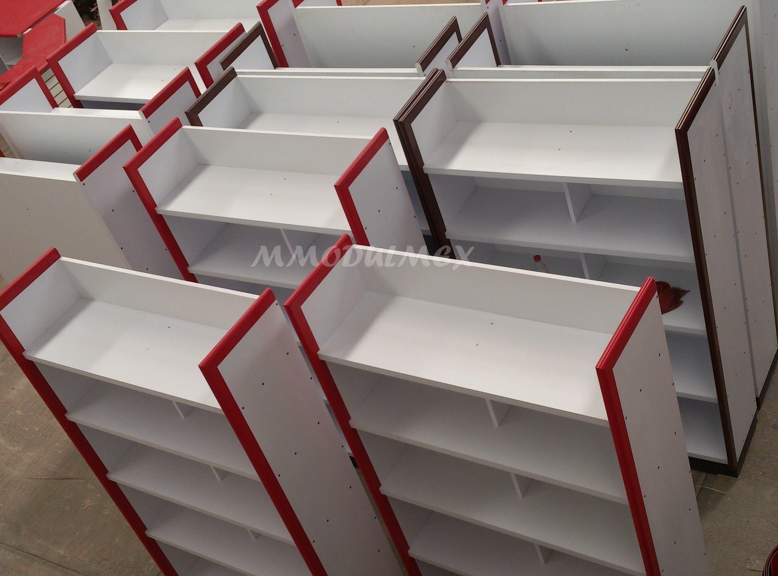 Muebles de tiendas mobiliario de oficina muebles de - Estanterias metalicas de diseno ...