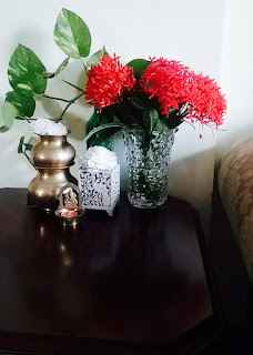 flowers in home decor