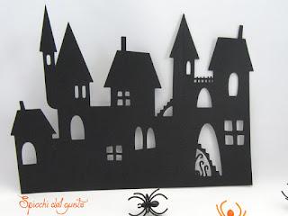 castello tenebroso per halloween fai da te
