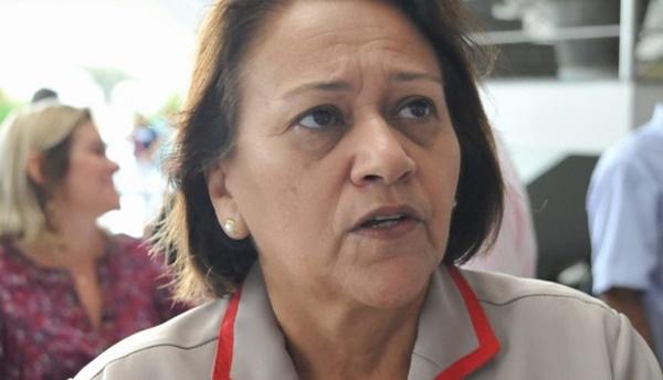 Fátima manda carta a Bolsonaro por recursos para retomar obras no RN