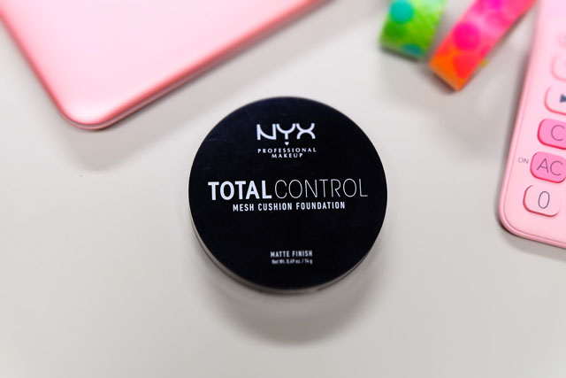 Review Nyx Total Control Mesh Cushion Foundation No 6 True Beige