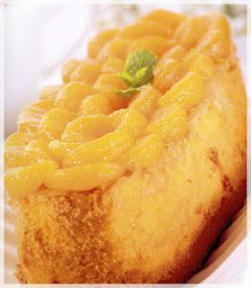 Cara membuat Cake Jeruk